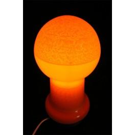 Skleněná lampička, 70.-80. léta