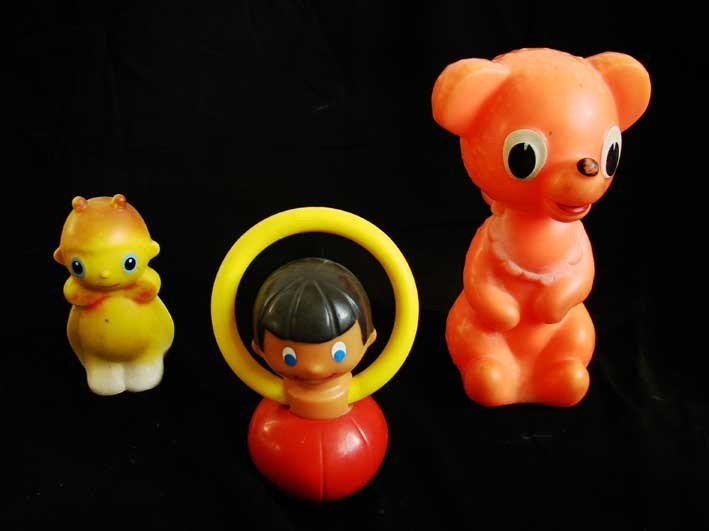 Rubber toy from Czechoslovakia